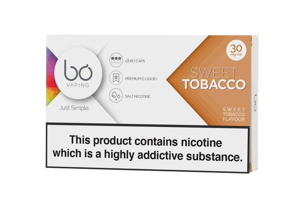 Bo Caps Sweet Tobacco 3 Pack - Vapespot