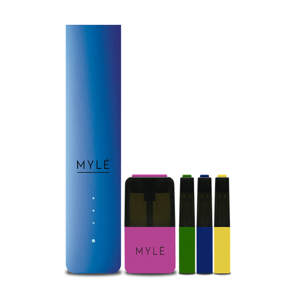 MYLÉ Starter Kit with Pods - Royal Blue V4 - Vapespot
