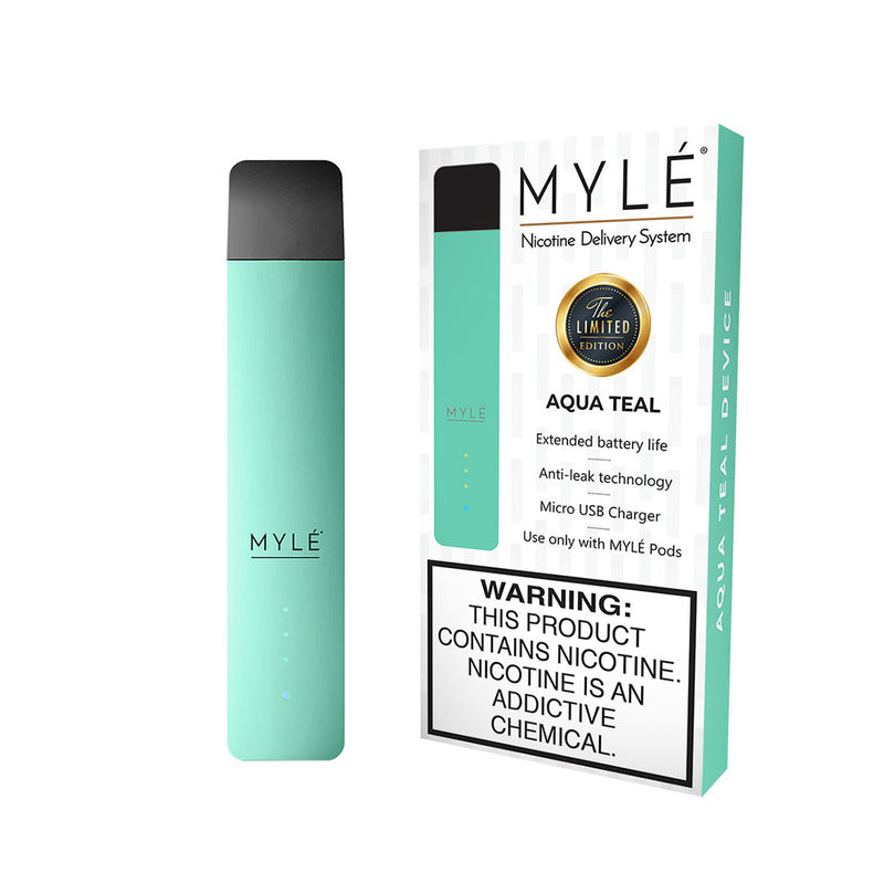 MYLE Pod System Kit - Aqua teal *NEW Gen 3 Model* | Vapespot