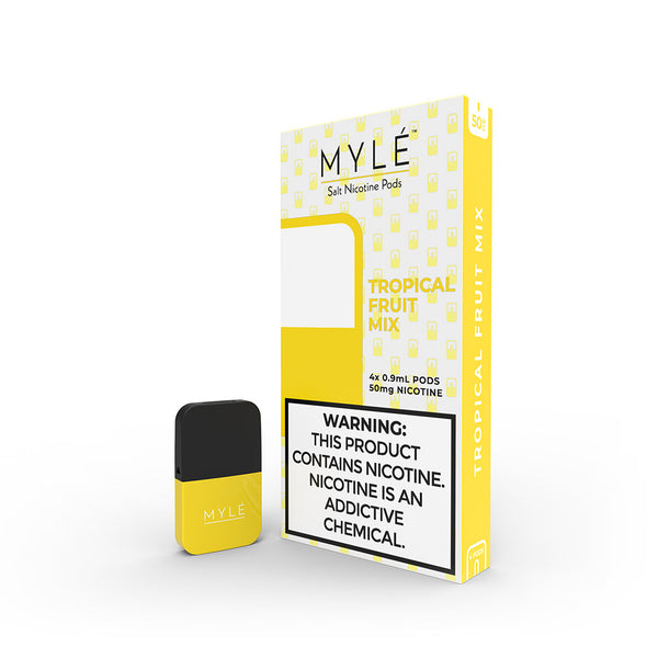 Myle Pods Tropical Fruit Mix 4 Pack Gen 3 | Vapespot