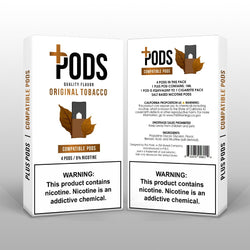 Plus Pods Original Tobacco 4 Pack *JUUL Compatible* | Vapespot