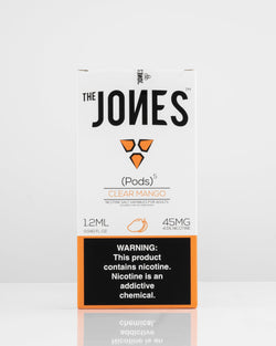 The Jones Pods Clear Mango 5 Pack *JUUL Compatible* - Vapespot