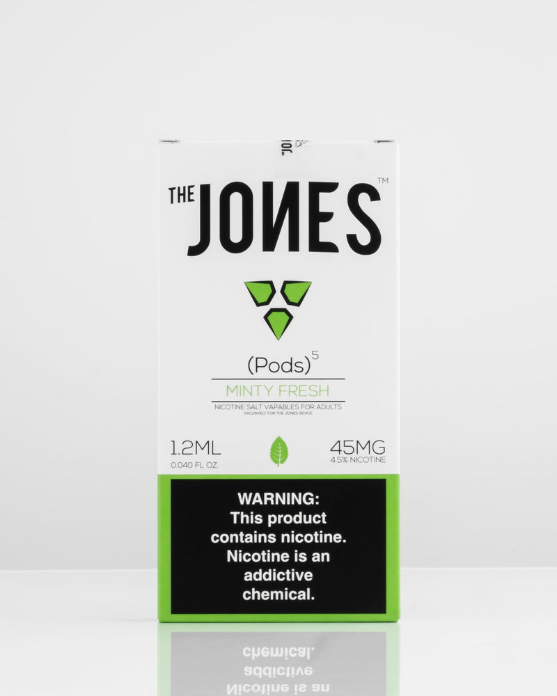 The Jones Pods Minty Fresh 5 Pack *JUUL Compatible* - Vapespot