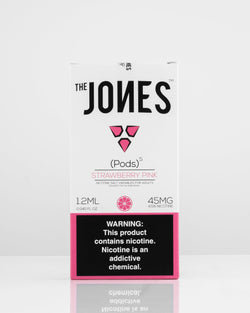 The Jones Pods Strawberry Pink 5 Pack *JUUL Compatible* - Vapespot