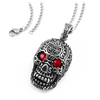 Tribal Skull Pendant & Chain
