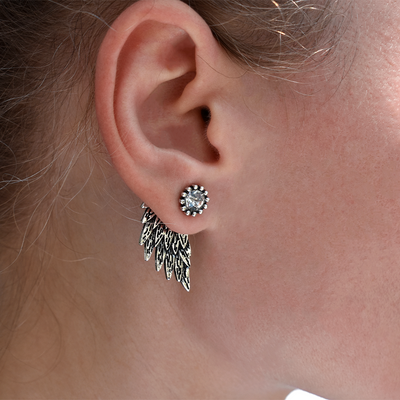 Feathered Wing Earrings