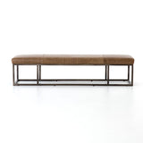 Beaumont Leather Bench