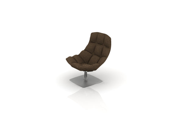 Knoll Jehs + Laub Lounge Chair with Return Swivel Base - CH-21