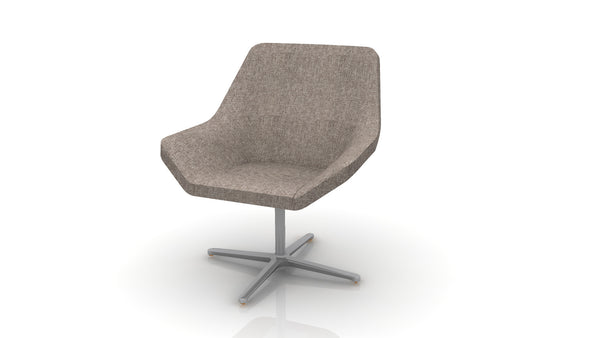 Keilhauer Cahoots Lounge Chair with Pedestal Base - CH-4A