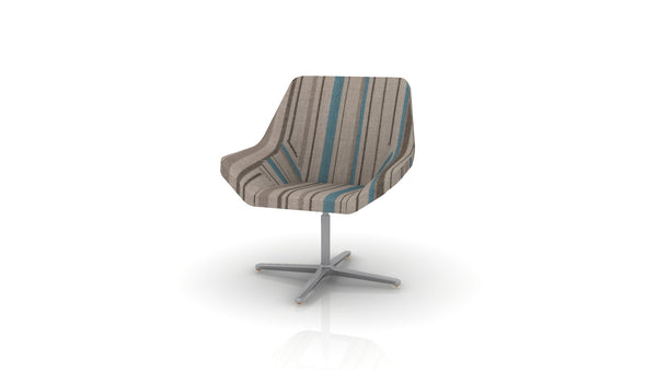 Keilhauer Cahoots Lounge Chair with Pedestal Base - CH-4B