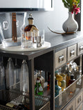 Industrial Bar Cart