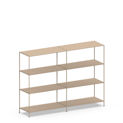 Double-wide Shelves 4-tier