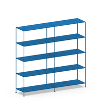 Double-wide Shelves 5-tier