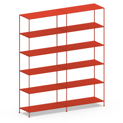 Double-wide Shelves 6-tier