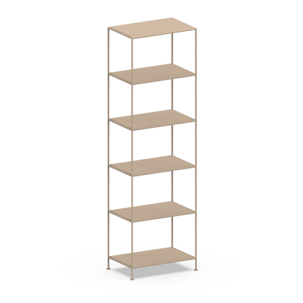 Narrow Shelves 6-Tier