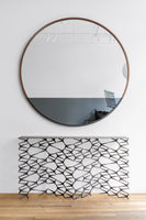 Waterline Round Mirror