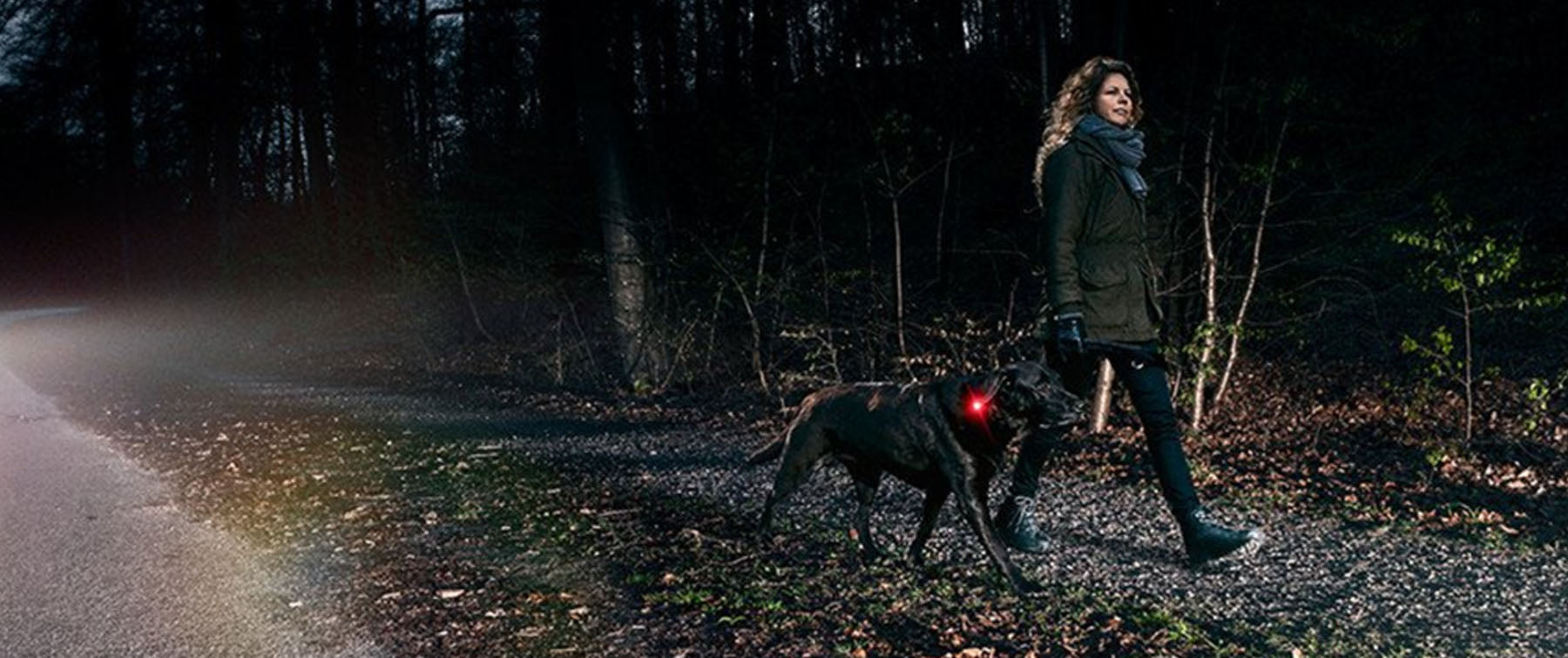 Why you should be lit up at night walking