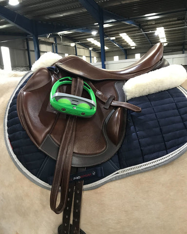 flec on stirrup and collegiate saddle mono event