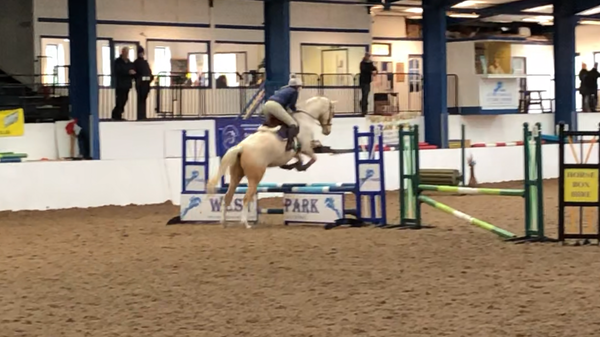 lucy read competition jump at west aprk