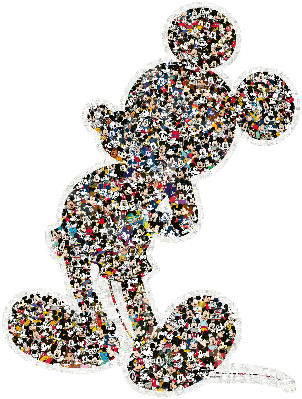 Shaped Mickey Puzzle 1000 pc