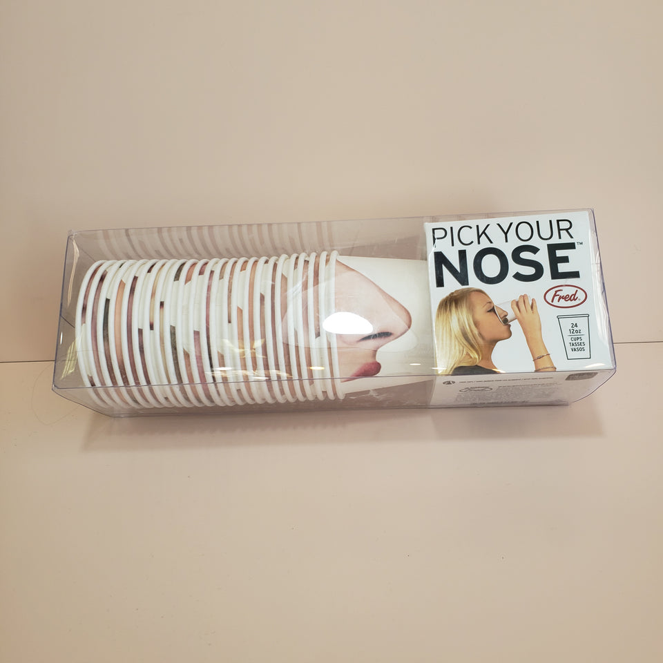 Pick Your Nose: Party Cups