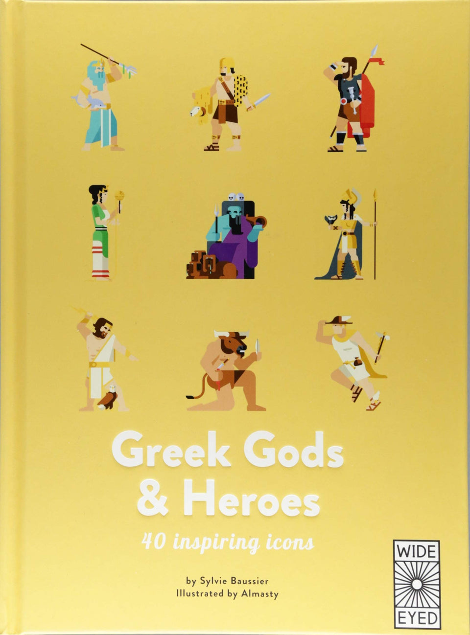 Greek Gods and Heros: 40 Inspiring Icons