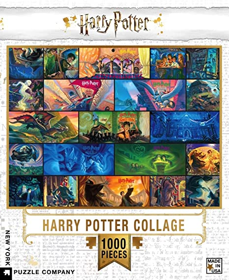 Harry Potter Puzzle: Collage 1000 pc