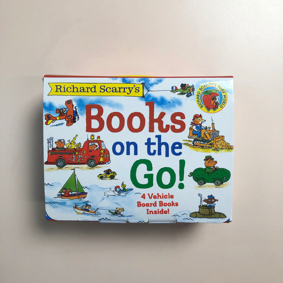 Richard Scarry's: Books on the Go