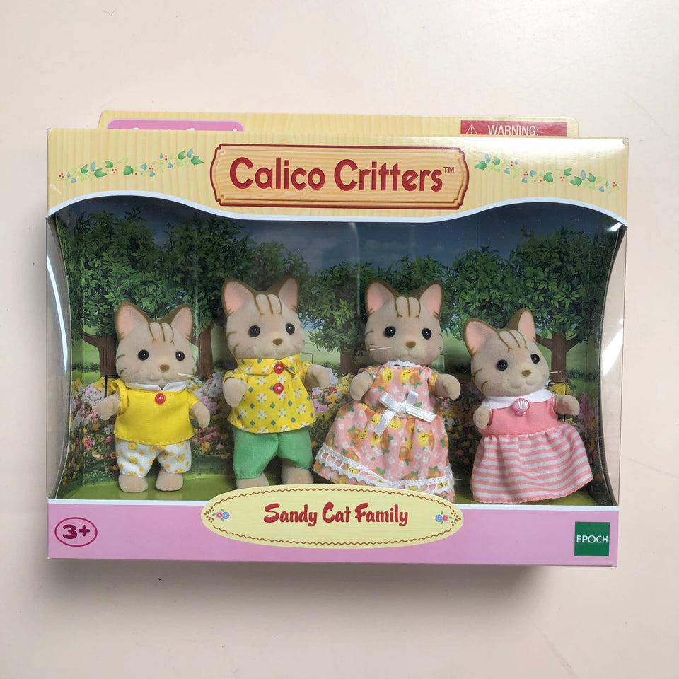 Calico Critters Family: Sandy Cat