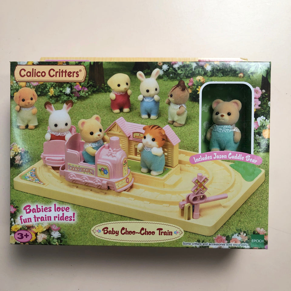 Calico Critters Set: Baby Choo-Choo Train