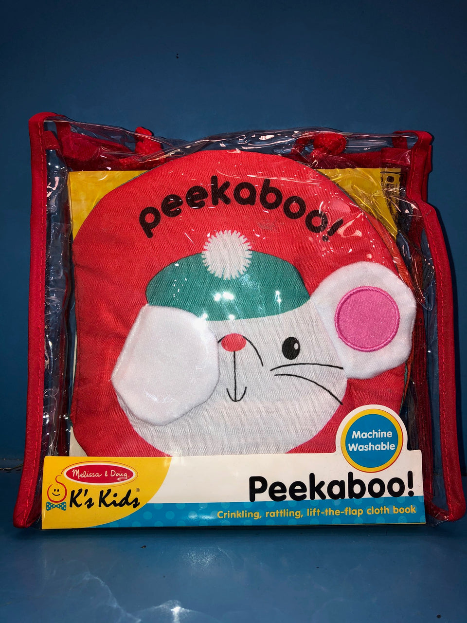 Melissa & Doug Soft Activity Book: Peekaboo!
