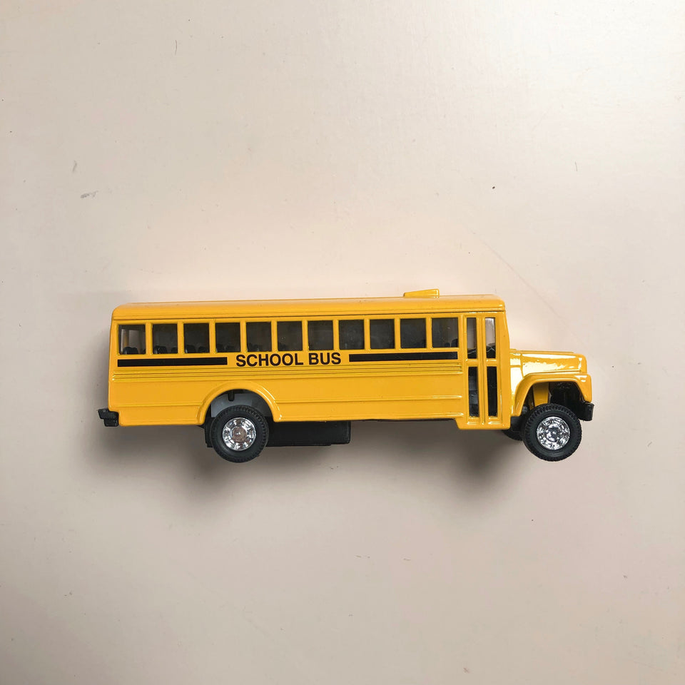 School Bus: Pull Back