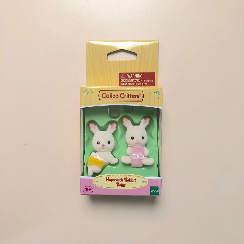Calico Critters Family: Hopscotch Rabbit Twins