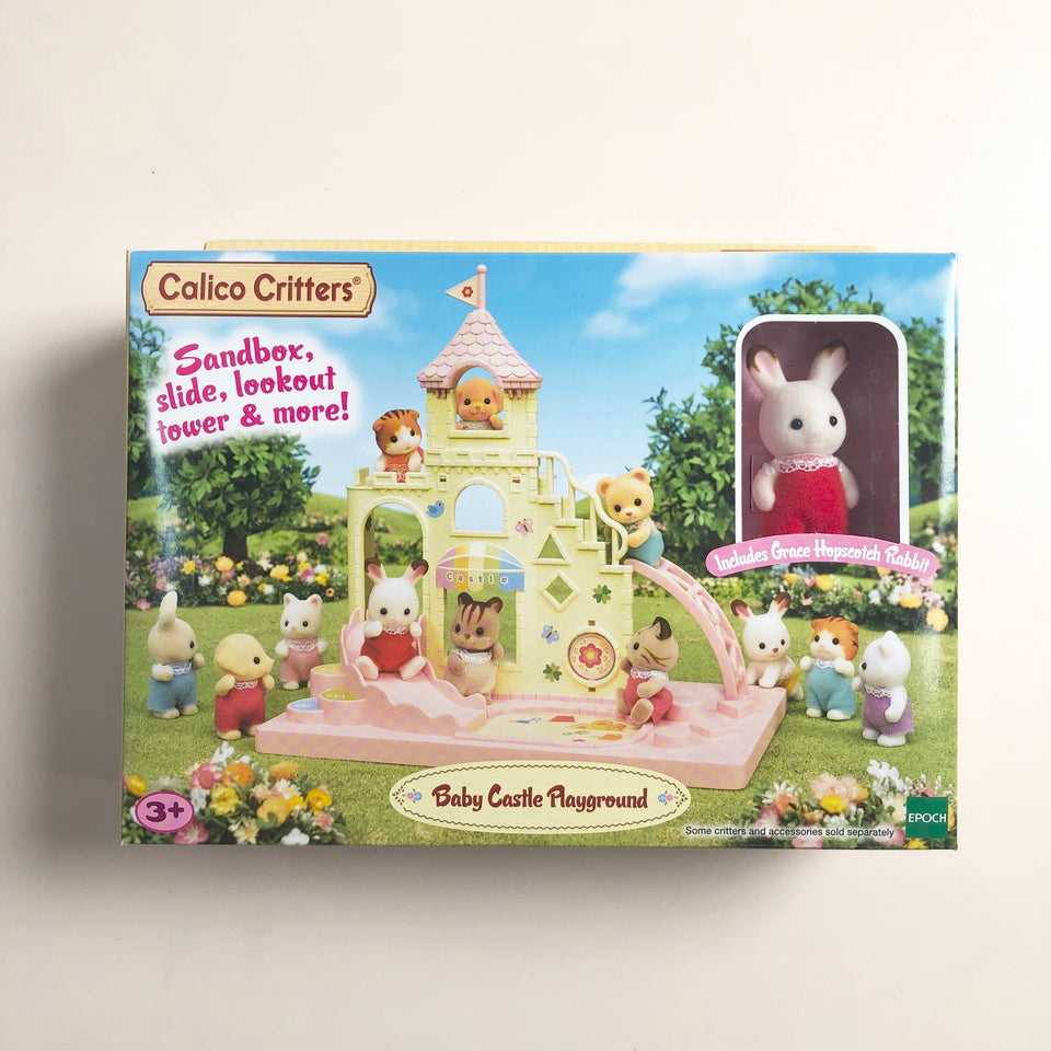 Calico Critters Set: Baby Castle Playground