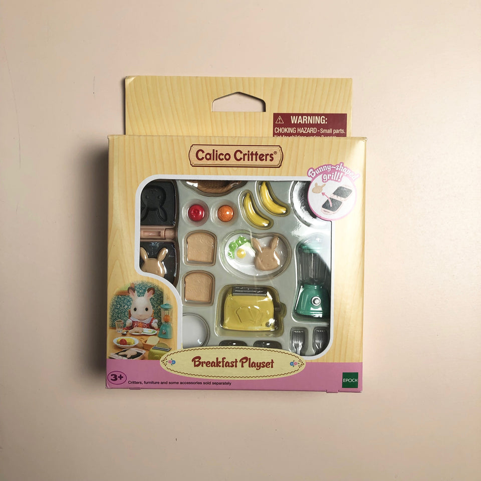 Calico Critters Set: Breakfast Playset