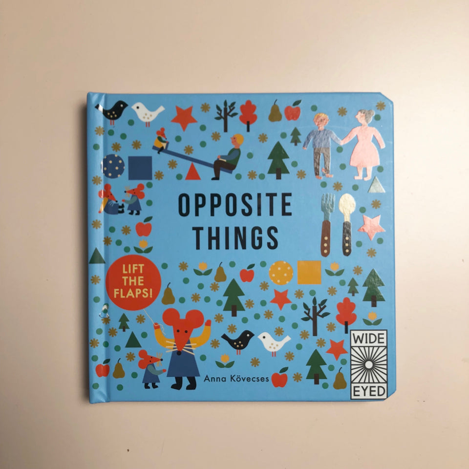 Opposite Things: Board Book