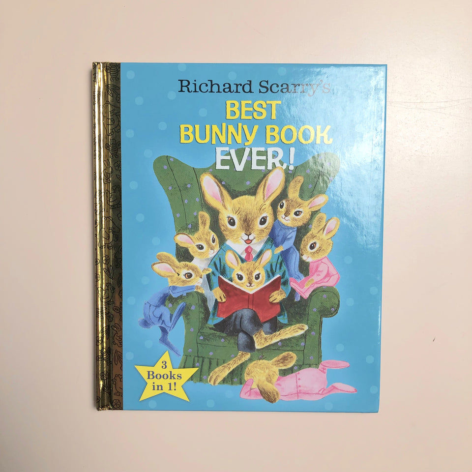 Richard Scarry's: Best Bunny Book Ever