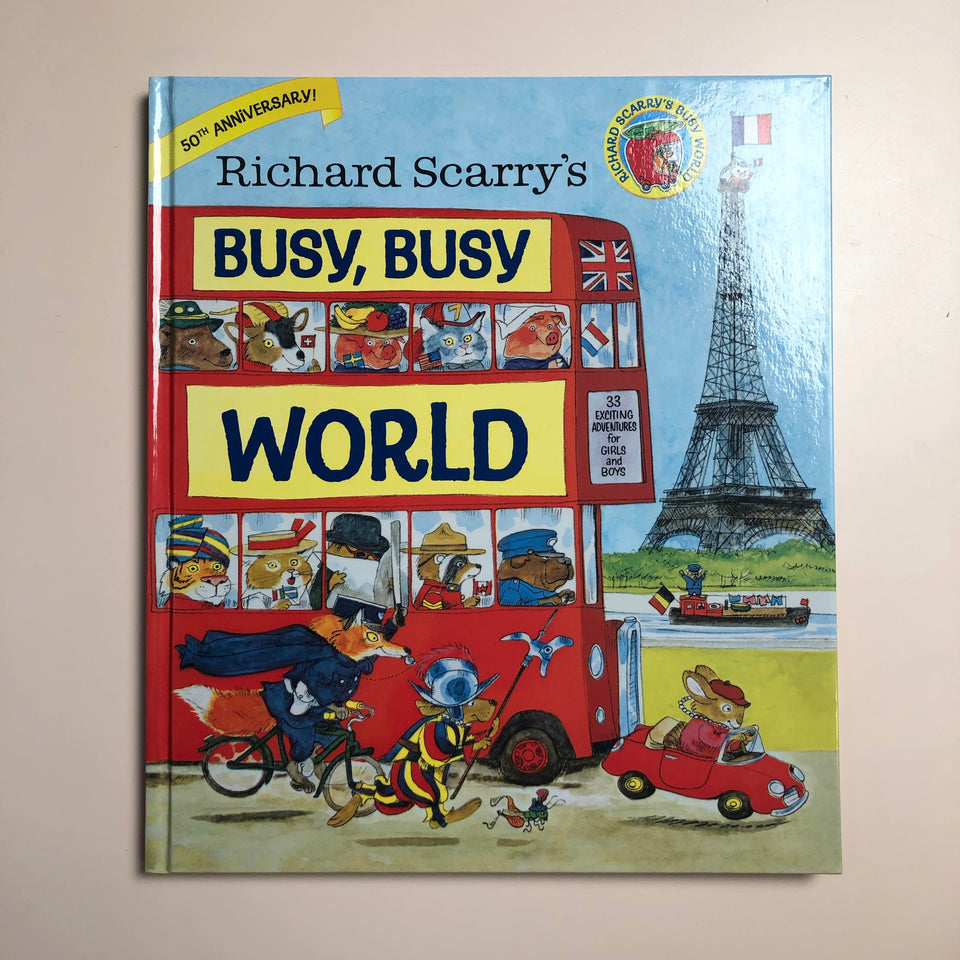 Richard Scarry's: Busy, Busy World