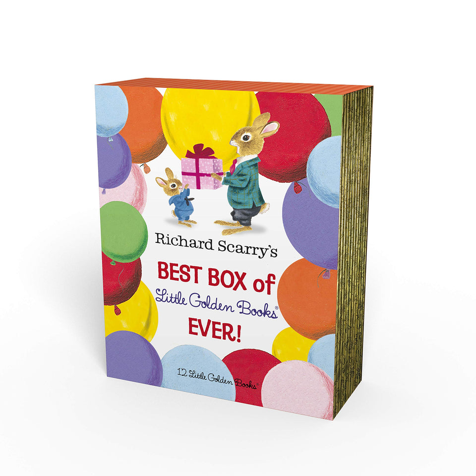 Richard Scarry's: Best Box of Little Golden Books Ever!