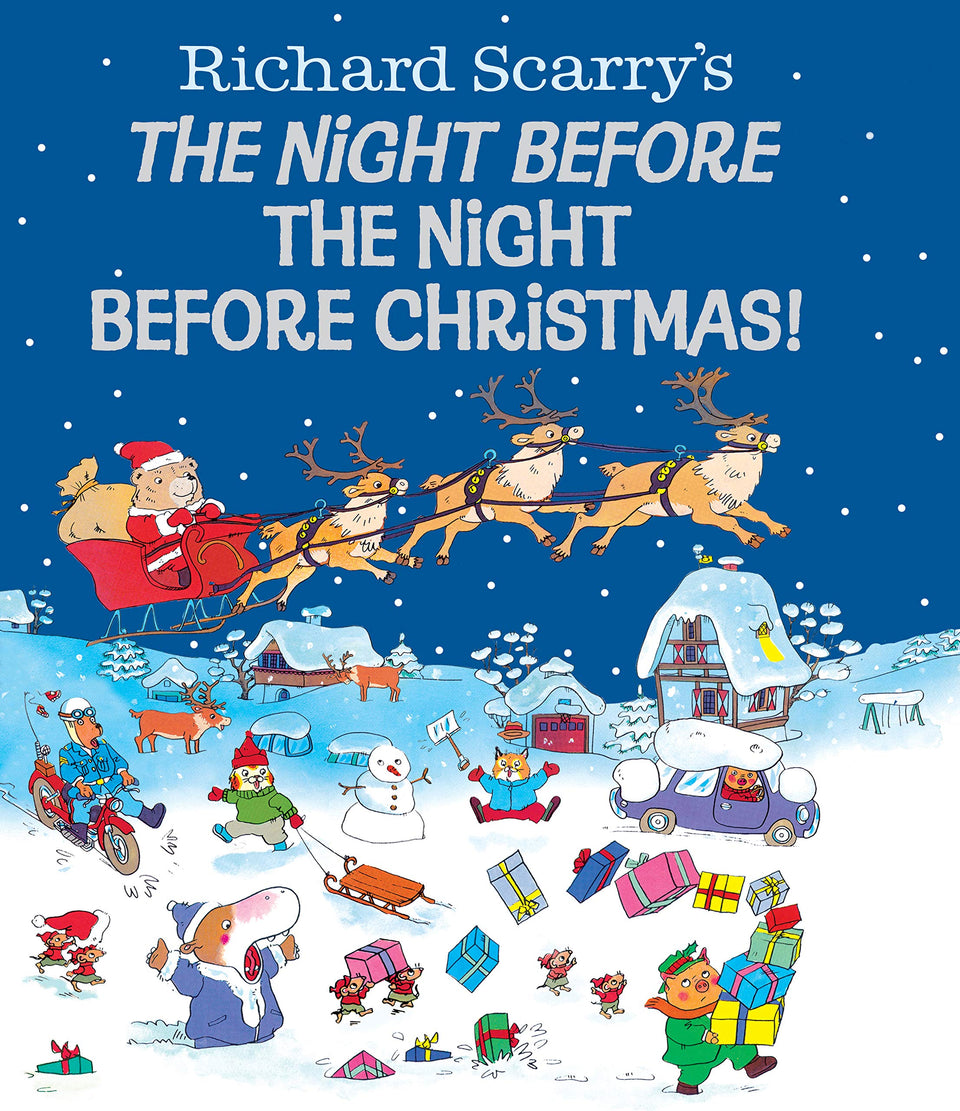 Richard Scarry's: The Night Before the Night Before Christmas