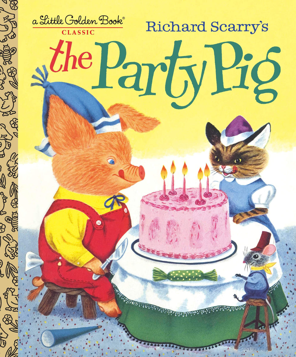 Richard Scarry's: The Party Pig