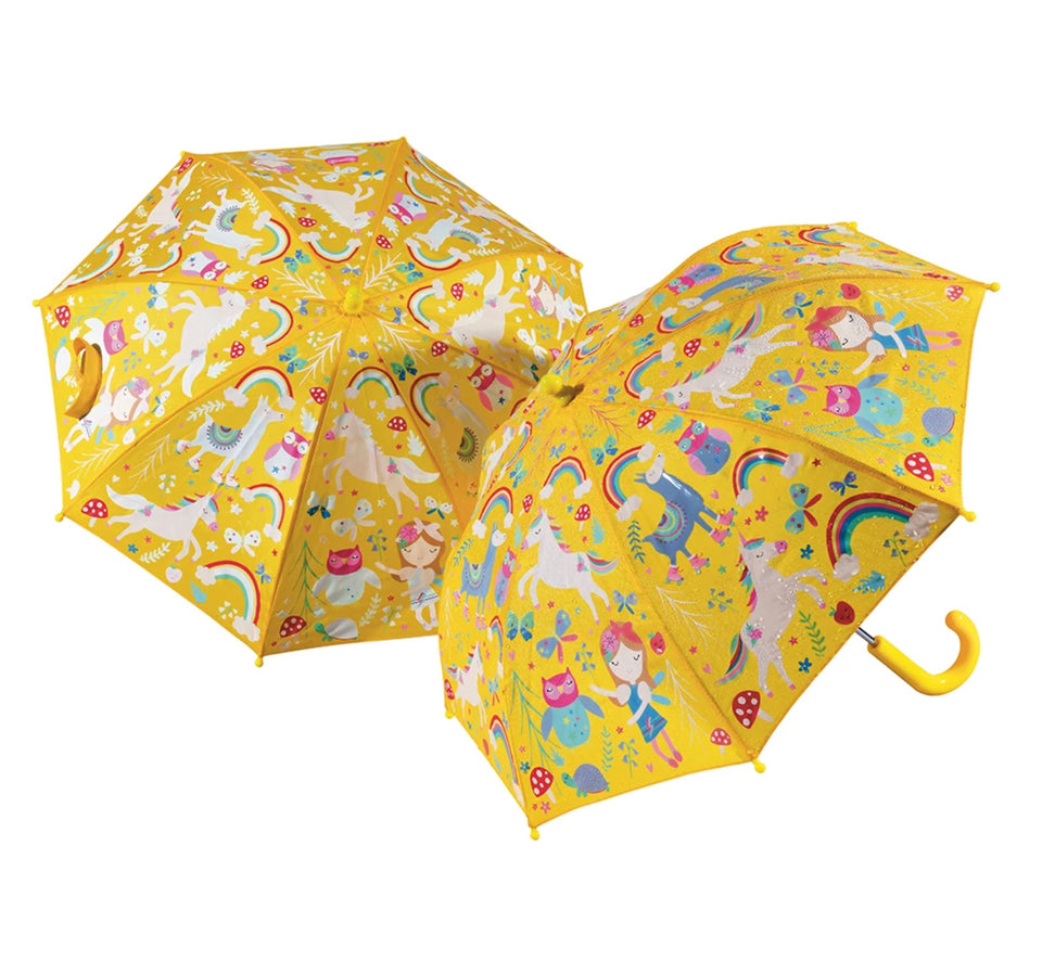 Color Changing Umbrella: Rainbow Fairy