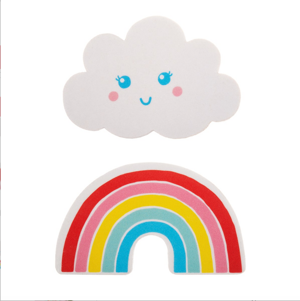 Rainbow and Cloud Nail File