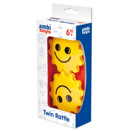Ambi Toys: Twin Rattle