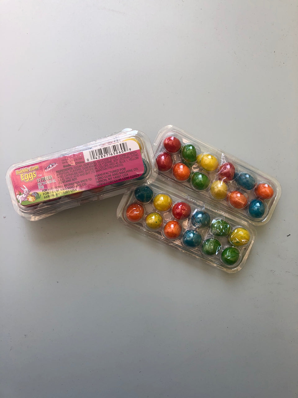Bubble Gum Eggs
