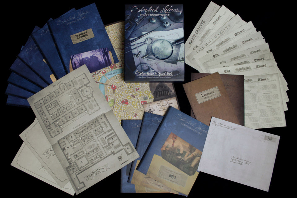 Sherlock Holmes Consulting Detective: Carlton House and Queen's Park