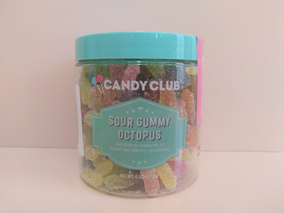 Candy Club: Sour Gummy Octopus