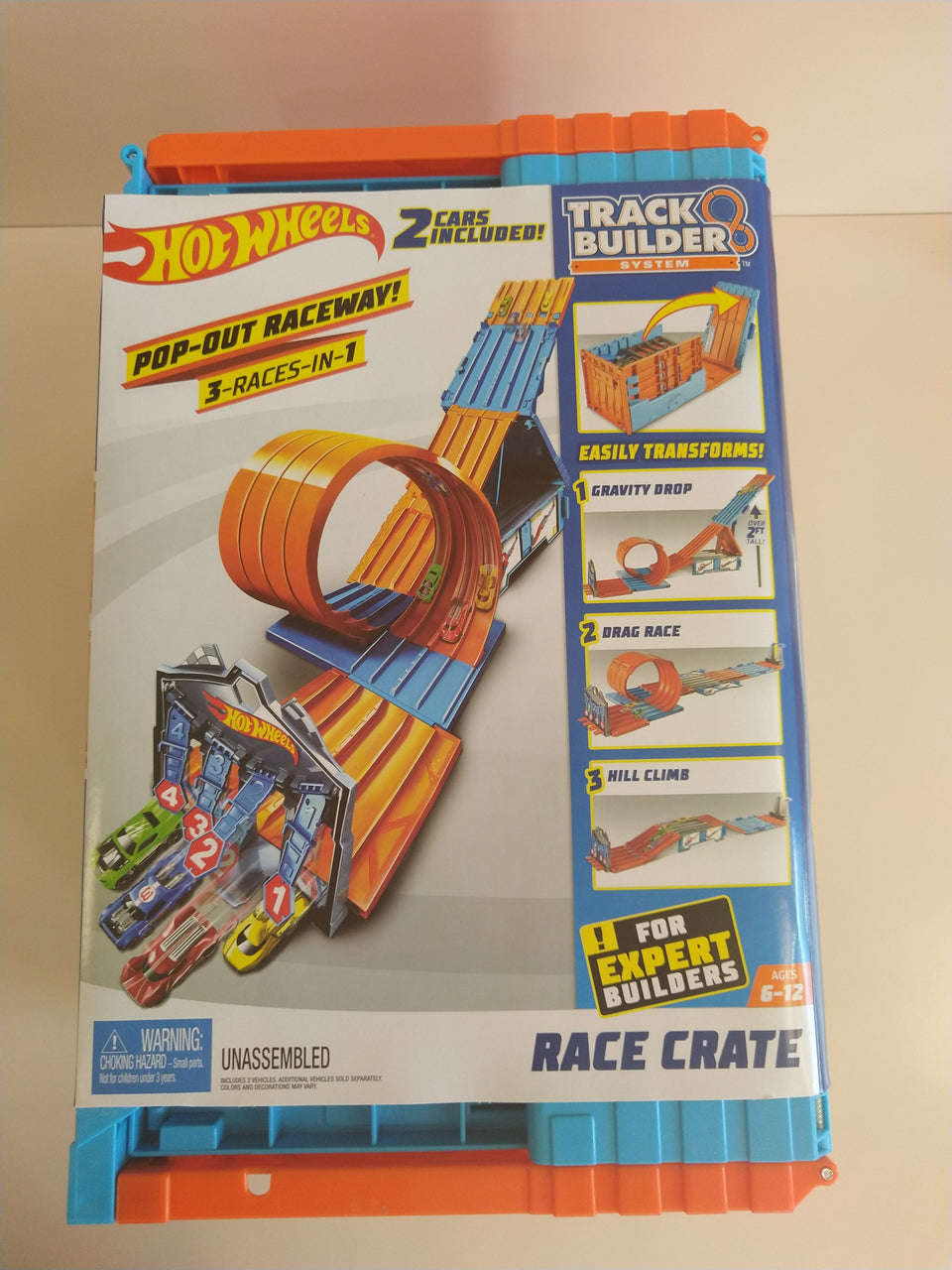 Hot Wheels: System Race Crate