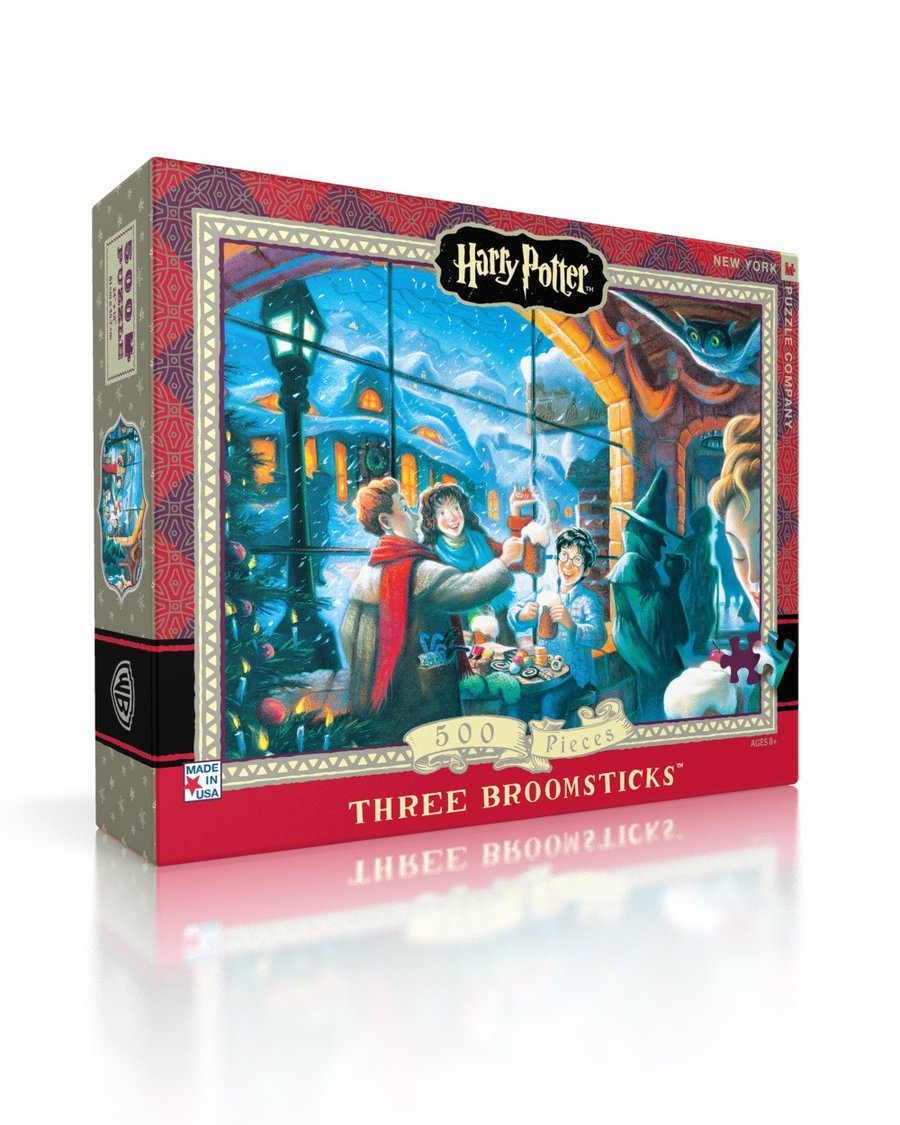 Harry Potter Puzzle: Three Broomsticks 500 pc