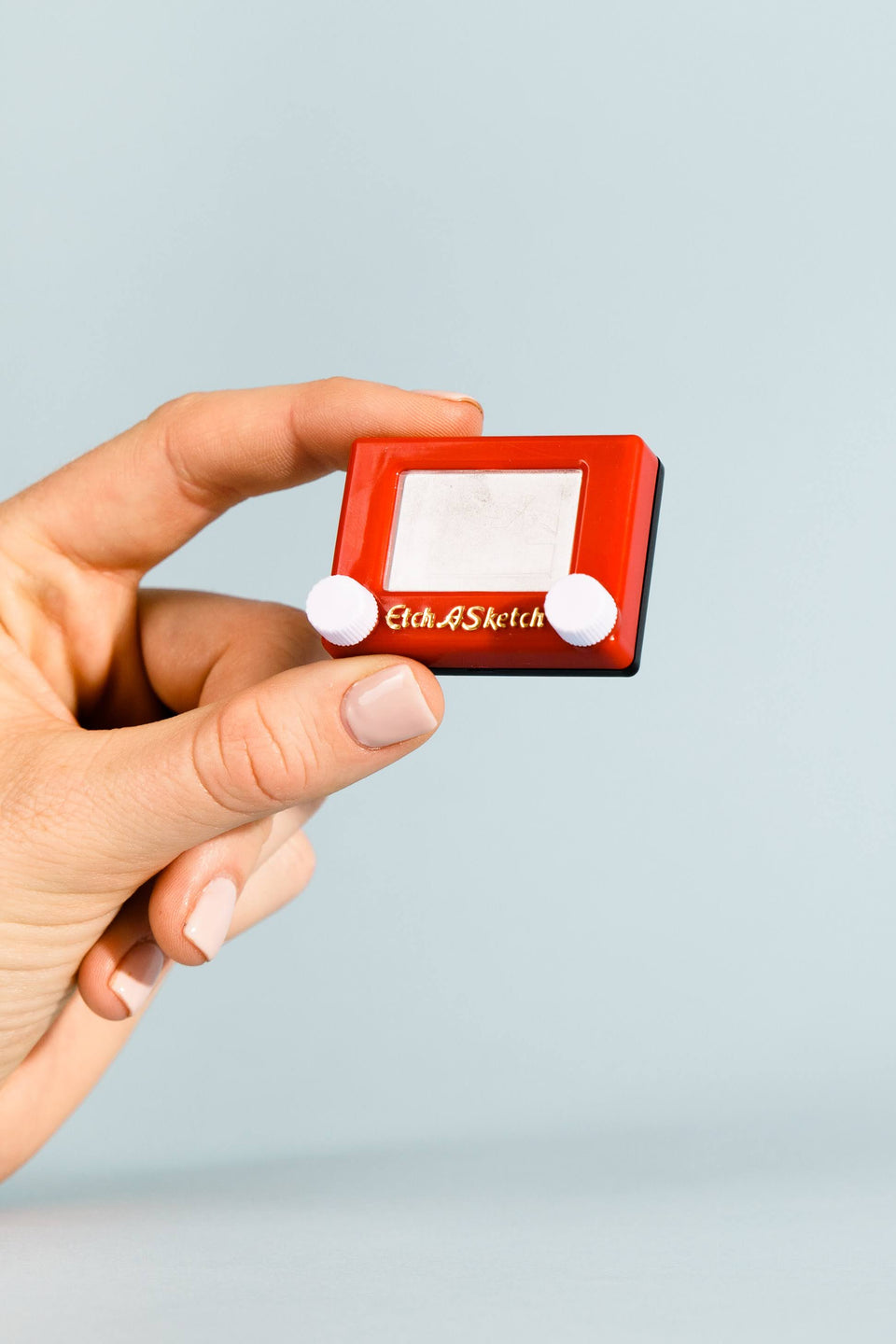 Worlds Smallest: Etch-a-Sketch